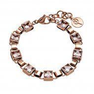 Edblad 82928 Rose Gold Multi Quadrat Bracelet