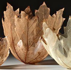 Skeleton Leaf Bowls - Kay Sekimachi