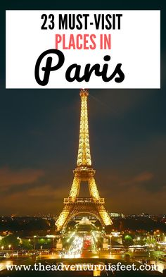 Traveling to Paris? Here are the most beautiful places to visit in Paris| Paris bucket list places | things to do in Paris| places to visit in paris france |Must visit sites in Paris | Top tourist attractions in Paris. #bestplacestovisitinparis #parisbucketlist