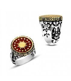 Gümüş Cumhurbaşkanlığı Forsu Erkek Yüzüğü EY727