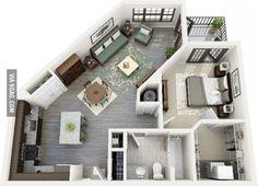 Single life apartment #4