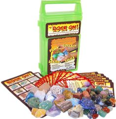AmazonSmile: ROCK ON! Geology Game & Rock Collection: Toys & Games