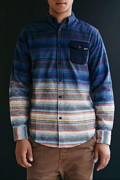 Staple Andres Dip Dye Button-Down Shirt