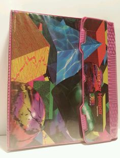 Vtg 1993 trapper keeper organizer notebook binder designer s Notebook Organisation, Notebook Binder, Diy Notebook, School Supplies List Elementary, School Supplies For Teachers, Tumblr Shop, Washi Tape Diy, Diy For Kids