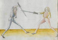 Lecküchner, Hans: Kunst des Messerfechtens Nordbayern, 1482 Cgm 582 Folio 59