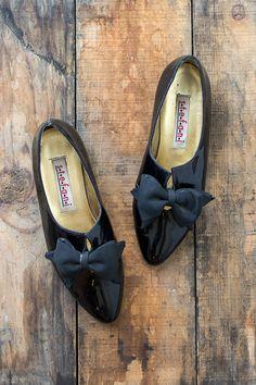 vintage shoes   Le Secretaire Flats #vintage