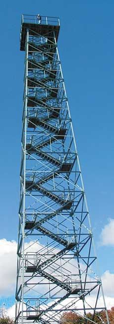 At an elevation of 3,405 feet, Big Walker Lookout affords one of the  most spectacular views of the Appalachian Mountains to our visitors. Wytheville, VA