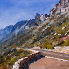 Ocean Views, Cape Town, Landscape Paintings, Whale, Coastal, Posts, Times, Mountains, Artwork