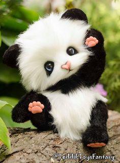 Unicornios Wallpaper, Cute Panda Wallpaper, Super Cute Animals, Cute Little Animals, Baby Panda Bears, Teddy Bears, Panda Bebe, Teddy Bear Pictures, Cute Animal Drawings