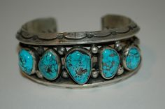 Exquisite Heavy Rare Old Pawn Navajo Kee Joe Benally Spider Web Turquoise Cuff Carinated Bracelet 111 Grams by navajodreams on Etsy