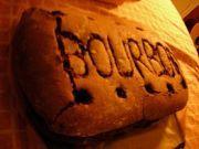 Giant Bourbon biscuit