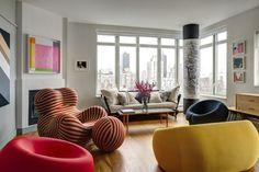 Galeria de arte ou laboratório de design? Arquiteto transforma seu apartamento em NY
