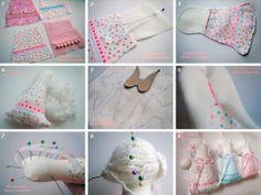 small sewn angels