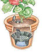 Self-Watering Veggie Table: 15 Steps (with Pictures) Diy Self Watering Planter, Self Watering Containers, Hydroponic Gardening, Organic Gardening, Container Gardening, Urban Gardening, Urban Farming, Indoor Gardening, Back Garden Design