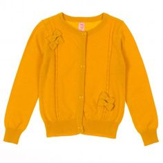 Penny Candy Cardigan girls sizes 2-12 -- gold yellow is all the rage this Fall get yours today at www.redtagfashion.com