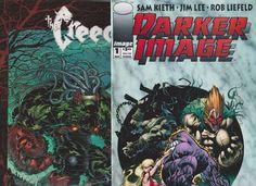 Image Comics 2 book set, Darker Image #1(1993),The Creech #1(1997)AWESOME SET!!
