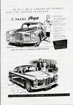 Facel Vage, publicité française < https://de.pinterest.com/korkveli/french-cars-ads/