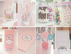 Pretty In Pink Theme Kids Birthday Party 1103