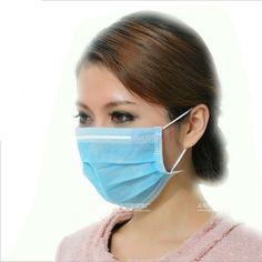 10pcs Medical masks Non-woven disposable anti-dust mouth mask Anti virus mask Mouth-muffle Flu Face masks mascarilla antipolvo