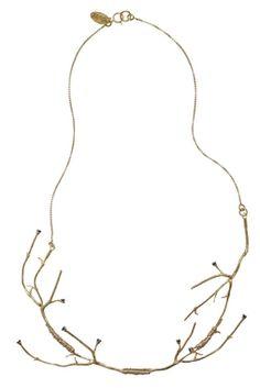 MIRIT WEINSTOCK - TWIGS STATEMENT NECKPIECE - NECKLACES - Products || The Dark Horse Jewellery Australia