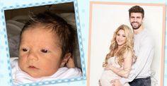 Shakira mostra o rosto de seu filho, Sasha, pela primeira vez