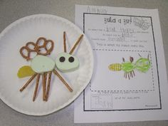 Insect body part activity (build a bug)  Mrs. Jump's Class- great site
