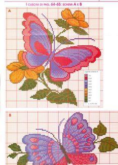Butterfly x-stitch