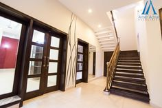 A beautiful home interior design and decoration by AmerAdnan Associates on 1 Kanal area.