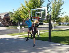 Amazon.com : Pro Dunk Gold with Rust Armor Best Selling Driveway Basketball Goal Hoop : Sports & Outdoors   #sports #basketball #outdoors #team #family #home #net #score #game #fun #boy #bedroom #net #gift #teen #ball #shoot #shopping #NBA #gear #hoop #goal #men