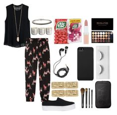 """""""Can You Hear Me"""" by artwonders97 ❤ liked on Polyvore featuring Enza Costa, Opening Ceremony, Tucker, Accessorize, NARS Cosmetics, DEOS, Illume, Zoya, Incase and Rimmel"""