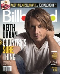 Keith Urban - Billboard cover