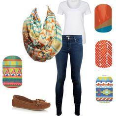 Basic with Tribal/Aztec on Polyvore Tribal Prints, Aztec, Preppy, Hair Beauty, Boho, Shoe Bag, My Style, Stylish, Polyvore