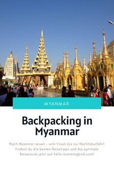 Lohnt sich eine Reise nach Myanmar – und was muss ich vor der Reise wissen? In diesem Artikel findest du die 8 häufigsten Fragen zu einer Reise nach Myanmar – und natürlich die passenden Antworten. Bangkok, Inle See, Beste Hotels, Backpacking, Movies, Movie Posters, International Airport, Taxi Driver, Alone