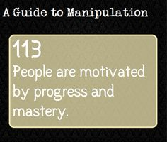 A Guide To Manipulation — A.K.A. - why video games are so addicting. JM
