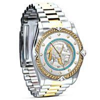 1700161001 - Indian Head Nickel Two-Toned Men's Watch