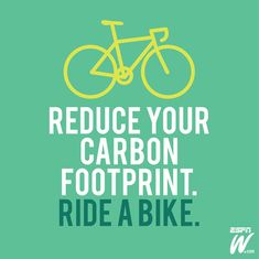 Happy Earth Day from @espnW! Unleash your champion, reduce your carbon footprint.