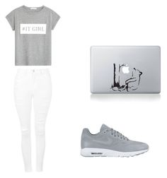 """""""Untitled #50"""" by jadaamariie ❤ liked on Polyvore featuring MANGO, Topshop and NIKE"""
