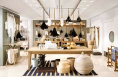 Conran Shop's Marylebone outpost—spanning three floors in a former stable—has been completely redesigned