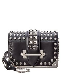 1715bd567649 Chain Shoulder Bag, Leather Chain, Baggage, Luxury Travel, Crossbody Bags,  Black