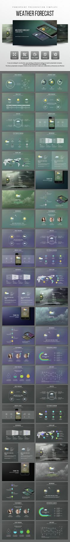 Purchase $15.00 Creative Presentation powerpoint template General Features 84 well designed powerpoint slides 4:3 and 16:9 aspect ratio 15 Cool Themes (Light...