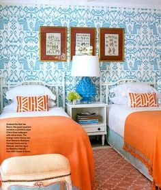 7 Best Turquoise And Orange Bedroom Pics Ideas