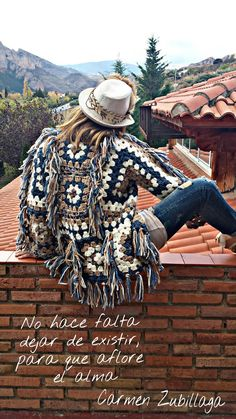 Crochet Jacket, Crochet Blouse, Knit Crochet, Knit Fashion, Womens Fashion, Women's Fitness, Crochet Projects, Boho, Knitting