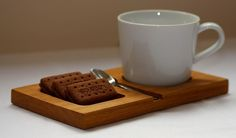 Tea and biscuits serving holder – Made from solid oak – Perfect for coffee mornings/businesses/cafes will look great on any coffee table – Tableware Design 2020 Coffee Shop Design, Cafe Design, Wood Design, Tea Biscuits, Morning Coffee, Coffee Mornings, Wooden Plates, Router Woodworking, Wood Creations