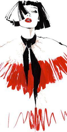 House of Holland Fashion Illustration | House of Beccaria~