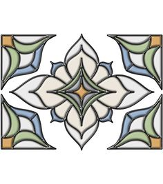 Alden Blue Stained Glass, , hi-res