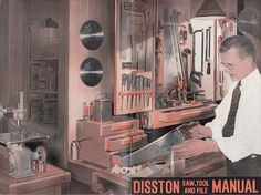 1939 Disston Saw Tool and File Manual Henry Disston & Sons Philadelphia PA by QuinsippiMercantile