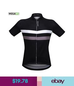 Cycling Clothing Mens Riding Jersey Short Sleeve Cycling Shirts Bike  Clothing Tops Breathable  ebay  Lifestyle 263da2967