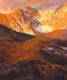 Image result for alpenglow watercolor