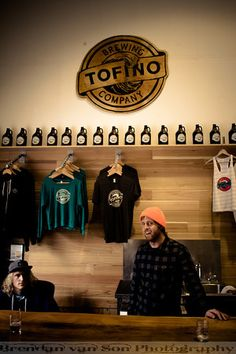 If you're in Tofino make sure you stop in and say hi, and grab some beer, at the Tofino Brewing Company.  Try the IPA which is delicious!