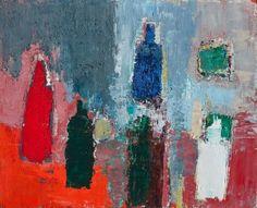 Nicolas de Stael - Les bouteilles, 1952